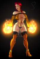 Hot Mage by Dualmask