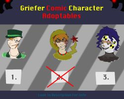 Griefer Comic Character Adopts (CLOSED) by Swallow-of-Fire8091
