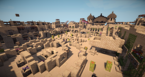 Desert City Arena by AziasCreations