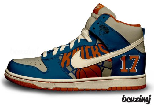 Linsanity Nike Dunks by becauseimjay