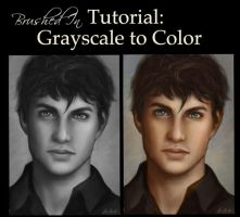 Grayscale to Color painting Tutorial by feavre