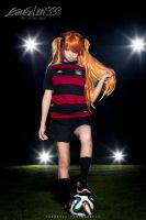 Evangelion - Asuka WC2014 by theDevil-photography