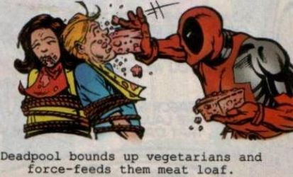 Deadpool and Vegitarians by Project856