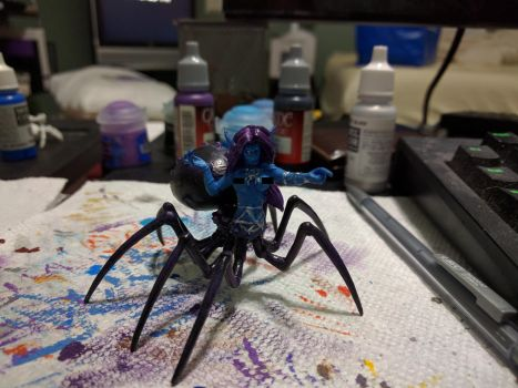 Lolth, Queen of the Demonweb pits by 8one6