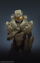 Hero : Master Chief by Lady-Owl