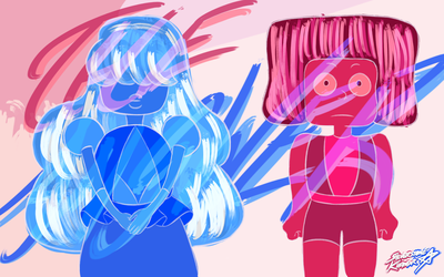 The Answer: Ruby and Sapphire by Sylverstone14