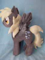 Derpy plushie is available for commission by CINNAMON-STITCH