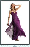 Purple Dress Ball Gown by LilyStox