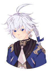 Alphinaud by NekomataChi