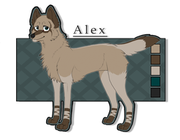 Character - Alex by Tydii