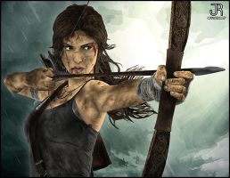 Lara Croft - Tomb Raider #5 by SpideyVille