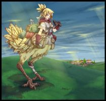 Chocobo Girl by gamera1985
