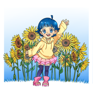 Sunflowers by jasei