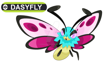 Commission: Dasyfly for pokefan-22 by Cerulebell