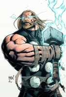 Thor MAD! by TiagoMontoia