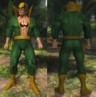 DoA5 Mod - Rig: Iron Fist Cosplay by Segadordelinks