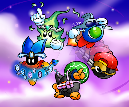 Kirby Star Allies - Super Star Helpers