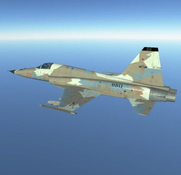 Completed Fictional Northeria Air Force Scheme by EricJ562