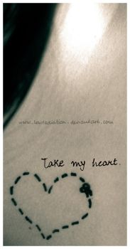 Take my heart by LowRadiation