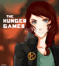 Katniss by Dunicakes