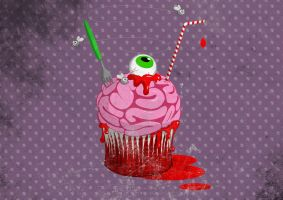 Cupcake Of The Dead by capdevil13