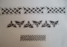 Celtic knots: some patterns by gothic90