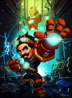 I AM iron gnome ! by gafana
