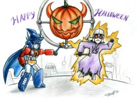 Halloween 2012 by Guard-of-Minasteris