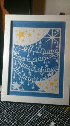 Mothers Day Papercut #2 by passionfyre