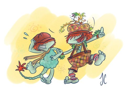 Fraggle Rock: Come On Boober Ol' Buddy! by aerinsol