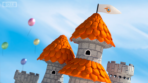 Blender Castle by MaryShan