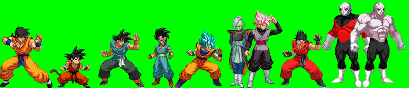 Extreme Butoden Sprites by Isair-Dragneel