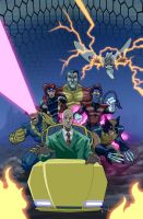 X-men animated by fernandogoni