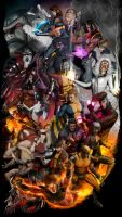 X-Men (Good and Evil) by CarlosDattoliArt