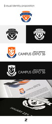 Campus Expo '16 Visual Identity Proposition by sevenorbs