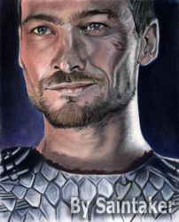 Spartacus - Andy Whitfield by saintaker