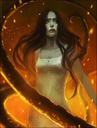Sacrifice in Fire by telthona