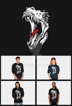 T-Rex T-Shirt by DRX-Design