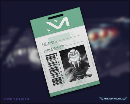 Qui Meon Lab I.D. Card by AndrewDavidJ