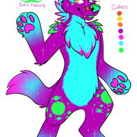 Hyena alien (Adoptable) Closed (Auction) by Derphound