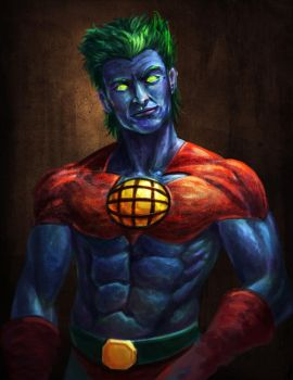 Captain Planet by feenixfabay