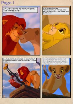 The Lion King Simba's Reign Pg1 by KellyTheEditor29