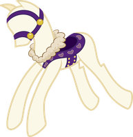 Rarity's Saddle and Bridle by SirCxyrtyx