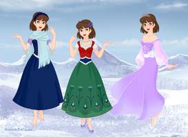 Princess Heidi Disney Model Challenge by Chumley12