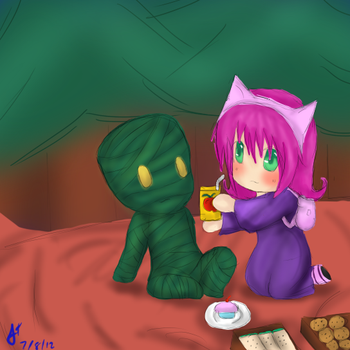League of Legends: A picnic by TheMuteMagician