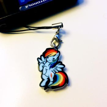 Rainbow Dash Charm by Maxx-V