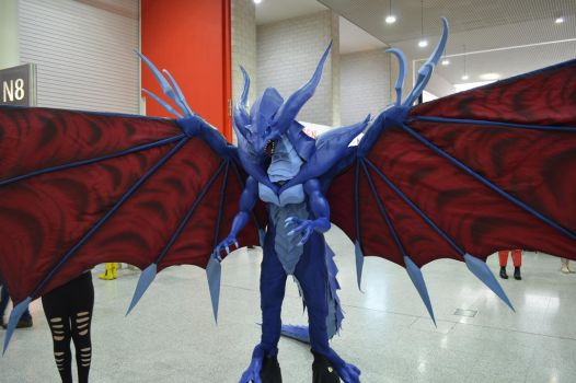 MCM Comic Con 2016 - FF8 Bahamut Cosplay 2 by GIGAN05