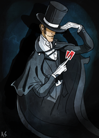 Vincent Dell - Magician of Propaganda by AymsterSilver