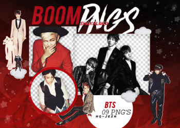 BTS PNG PACK #6 by Upwishcolorssx