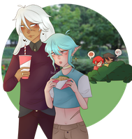 [OCS] Dates ft. evil stalkers by BurntDaisy